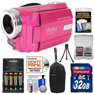 Vivitar Dvr 508 Hd Digital Video Camera Camcorder Kit