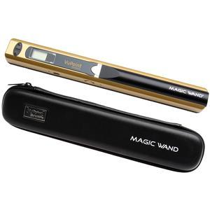 VuPoint Magic Wand Portable Photo and Document Scanner with Case-Metallic Gold -