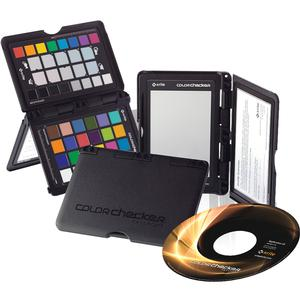 X-Rite Color/White Balance/Gray Card Checker Passport with Calibration & Capture Software