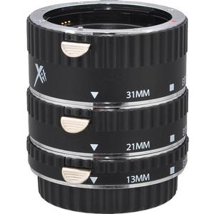 Xit Pro Series AF Macro Extension Tube Set - for Canon EOS Cameras - with 13mm-21mm-31mm Tubes