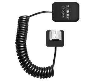 Zeikos Heavy Duty Off-Camera Flash Shoe Cord - Nikon i-TTL (3')