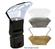 Zeikos Universal Flash Diffuser Bouncer with Interchangeable White/Gold/Silver Inserts