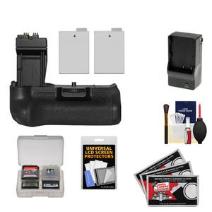 Zeikos BG-E8 Battery Grip for Canon EOS Rebel T2i T3i T4i & T5i Digital SLR Camera with (2) LP-E8 Batteries + Charger + Accessory Kit