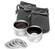 Zeikos .45x Wide Angle & 2.5x Telephoto Camera/Video Lens Set