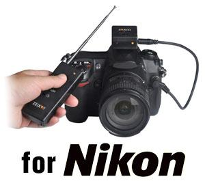 Zeikos Wireless Remote Shutter Release for Nikon Digital SLR Cameras for D3100  D5000  D5100  D7000  D90  D300  D300s  D700  D3  D3s  D3x